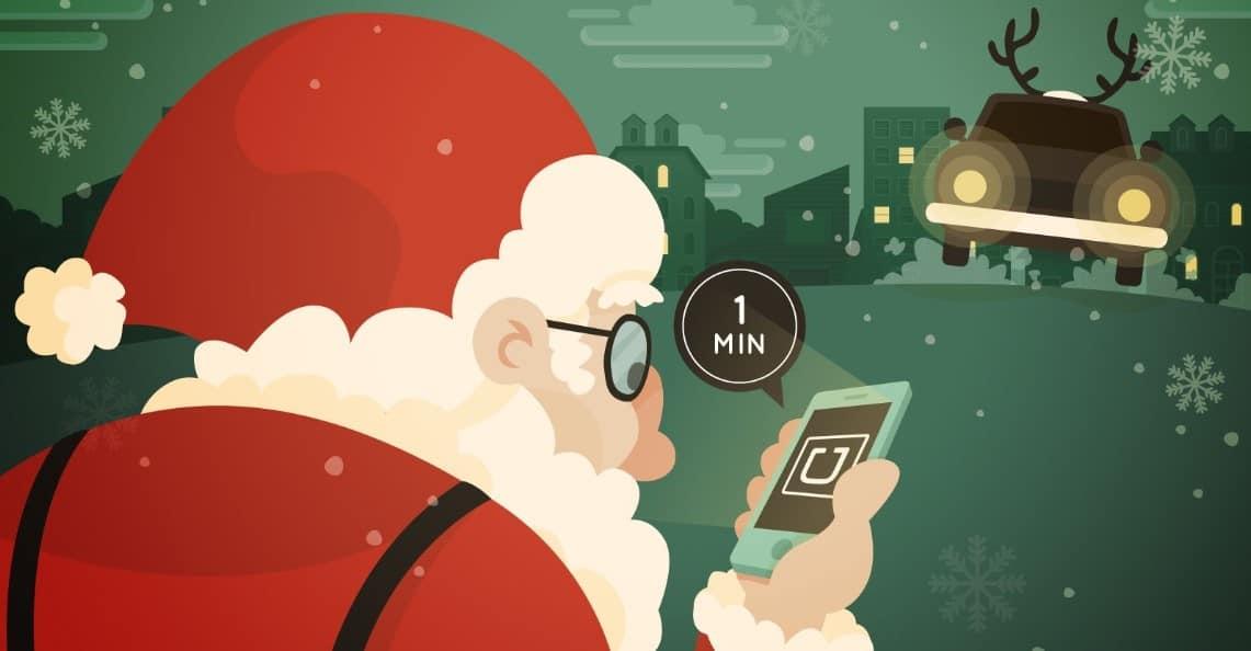 Uber Navidad y Año Nuevo